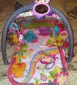 Детский развивающий музыкальный коврик