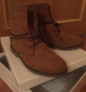 Ботинки сапоги женские новые