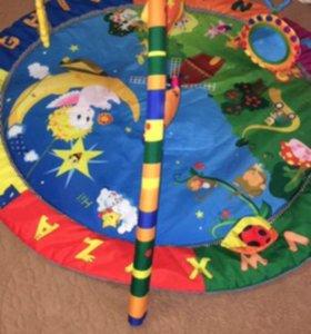 Развевающий коврик и игрушка