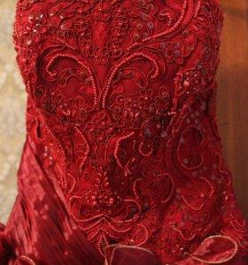 Выпускное платье почти даром