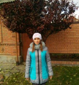 Зимняя куртка. Размер 48.