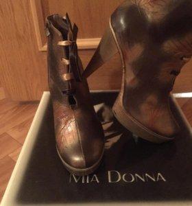 Mia Donna сапожки ботильоны туфли новые оригинал