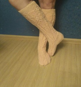 Вязаные носочки и не только