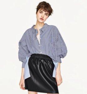 Новая юбка эко-кожа