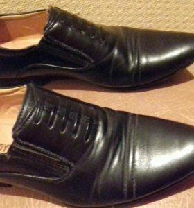 Обувь туфли на мальчика или подростка