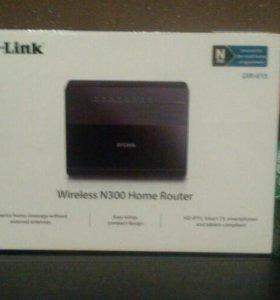Wi -fi роутер D-link