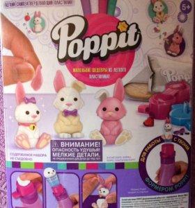 Пластилин poppit зверьки