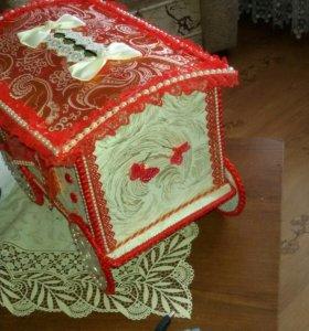 Свадебная коробка для даров