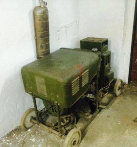 Бензиновый электрогенератор