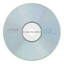 CD-R TDK диски новые