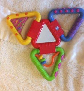 Грызунки, прорезователи, развивающие игрушки