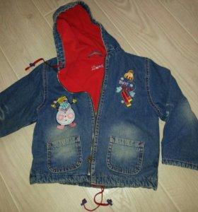 Куртка джинсовая. Gloria Jeans. Весна.