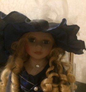 Кукла фарфоровая 45 см