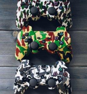 Геймпады для PlayStation 3 камуфляжные