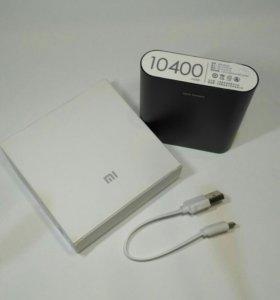 Power bank xiaomi на 10400 mAh черный