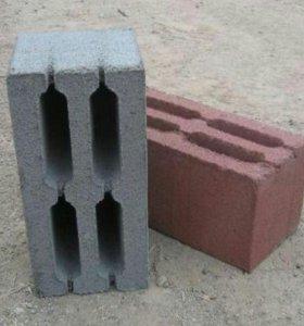 Бетонные блоки, шлакоблоки
