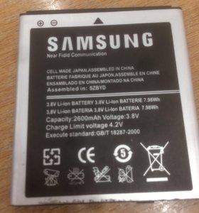 Батарея на Samsung galaxy s 3,4,5