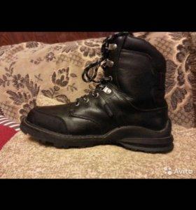 Ботинки 22 см новые зимние Kotofey натур. кожа