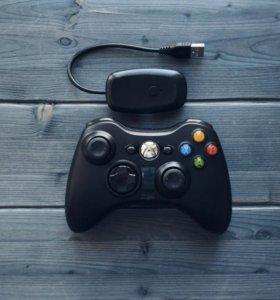 Беспроводной Геймпад для Xbox 360 и для PC