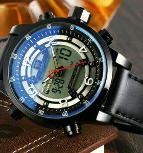 Брутальные, стильные мужские часы AMST.