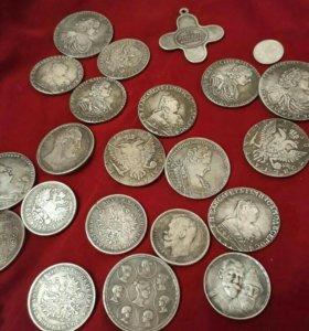 Подарочный набор царских монет.