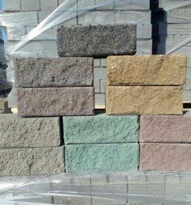 Кирпич бетонный ,рв.камень