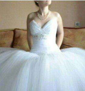 Не дорогое и красивое свадебное платье