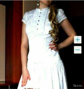 ВСЕГО 1000. Красивейшее гипюровое платье