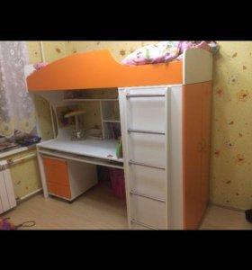 Школьный уголок оранжевого цвета! СРОЧНО!!!!