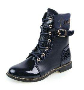 Ботинки новые - Размер: 34