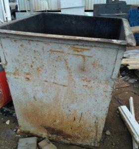 Бак мусорный