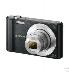 Ффотоаппарат Sony DSC-W810B 20.1 Mp6x Zoom