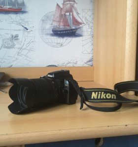 Фотоаппарат Nikon D 40, Nikkor 18-105