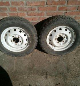 Колеса 185/75 .16С за 2 колеса