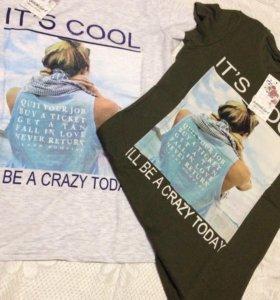 Новые футболки,кофты