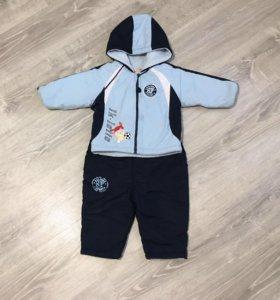 Курточка и штанишки на весну для мальчика