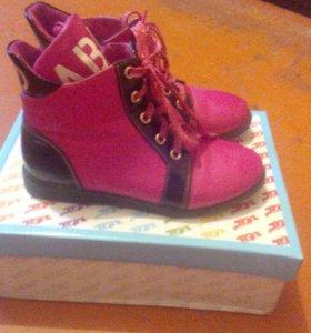 Ботинки для девочки демисезонные 32 размера