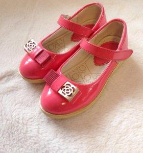 Обувь для девочки 26-27р