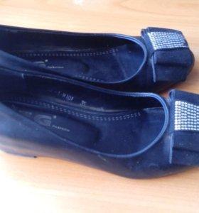 Туфли с внутриним каблуком