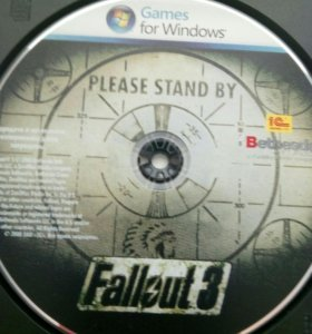 PC диск fallout 3