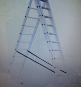 Лестница 3х секционная
