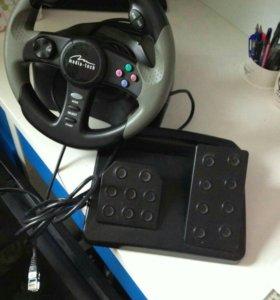 Руль и педали для ps2