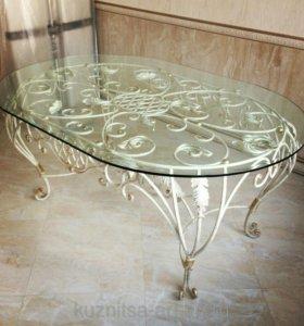 Стеклянные столешницы для столов