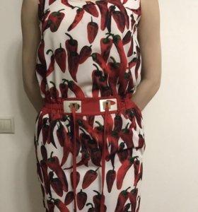 Платье D&G с карманами