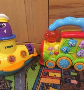 Музыкальные игрушки с подсветкой