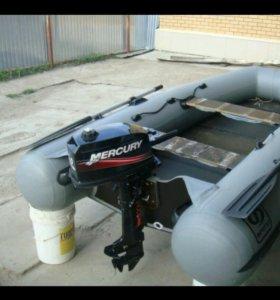 Лодка Фрегат М290 и мотор Mercury ME 5MH