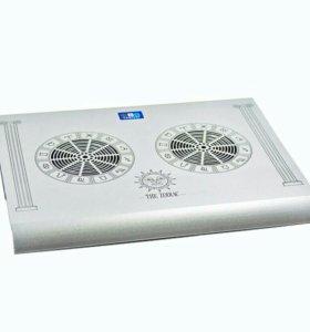 Охлаждающая подставка для ноутбука+USB HUB