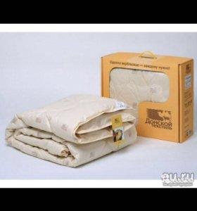 Одеяло верблюжье евро размер 220*205 новое