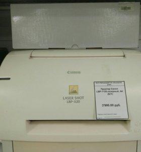 Лазерный чернобелый принтер Canon LBP-1120 б/у