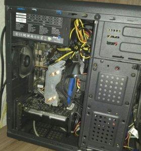 Игровой, рабочий компьютер Core i3-6100 Skylake